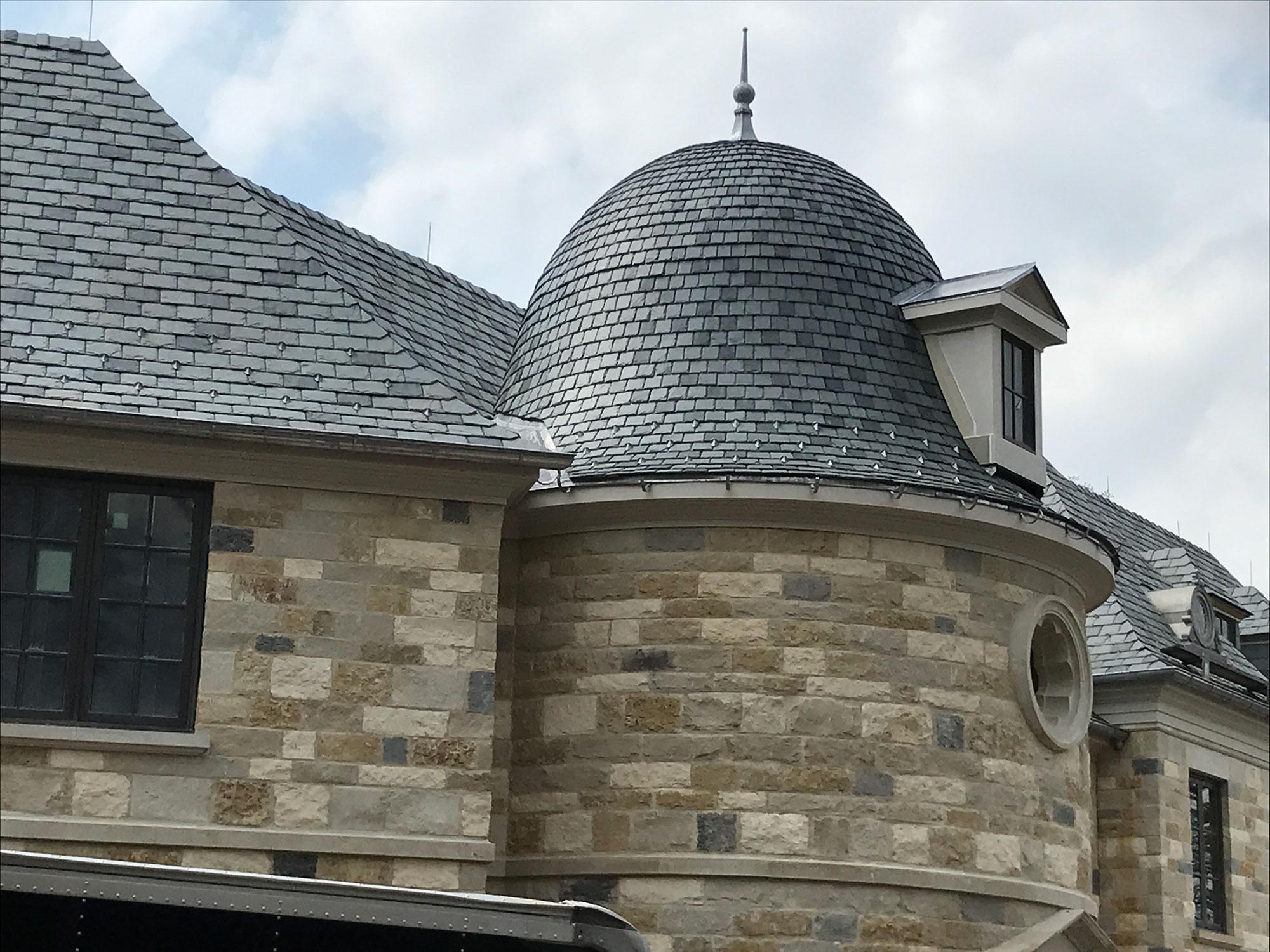 Custom Slate Roof Glandt Roofing